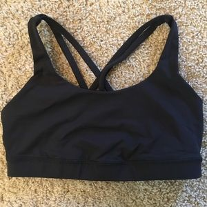 Lululemon Energy Black Sports Bra